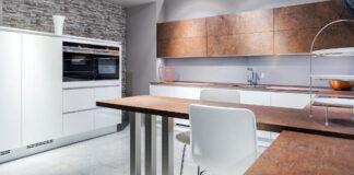Miedziane fronty kuchenne